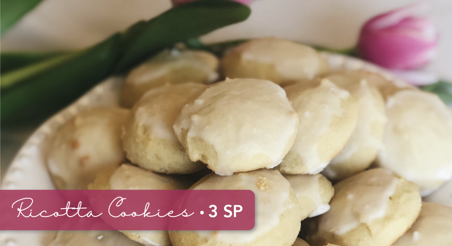 Mama's 3 SmartPoints Italian Ricotta Cookies | Weight Watchers