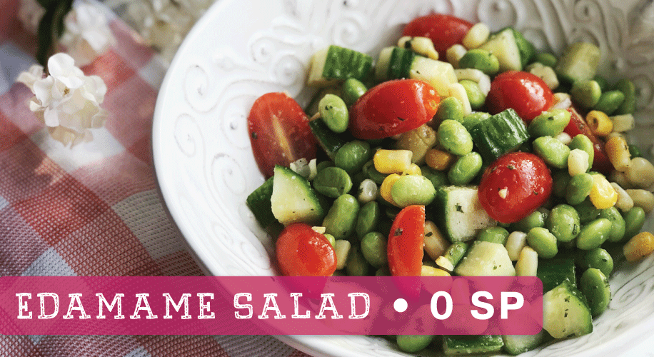 Weight Watchers Edamame Salad | ZERO SmartPoints