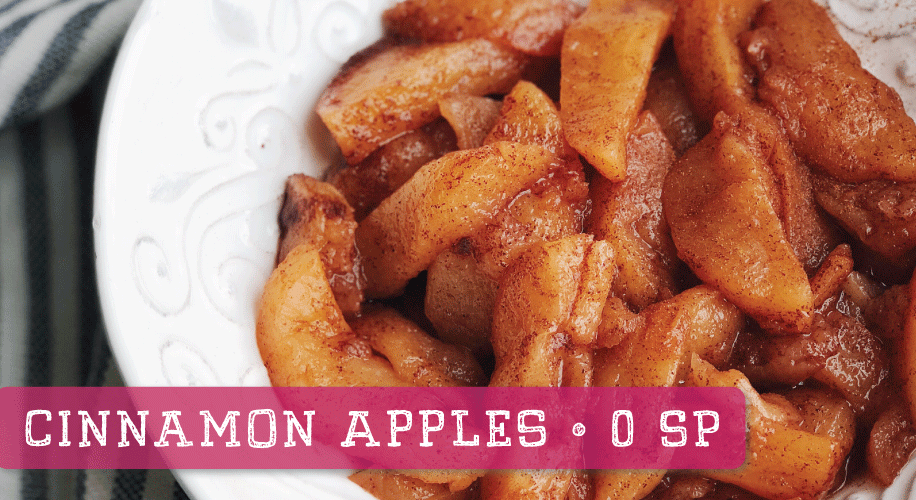 Low-Cal Cinnamon Apples | Boston Market Replica | 0 Weight Watchers Smartpoints