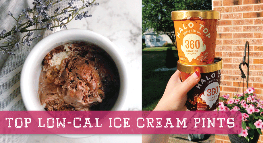 The BEST Low-Calorie Ice Cream Pints | 2018