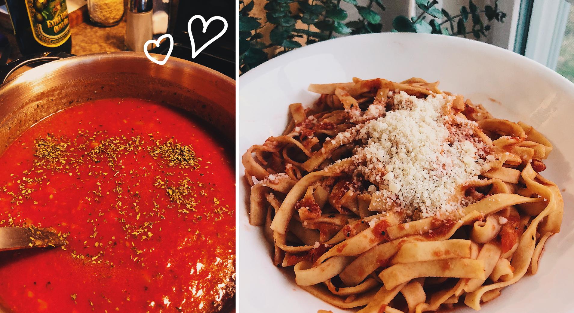 Mama's ZERO SmartPoint Homemade Tomato Basil Sauce